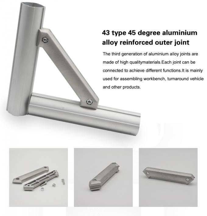 Aluminium Alloy Joint Tubes DYJ43-A4545 For Workshop And Factory