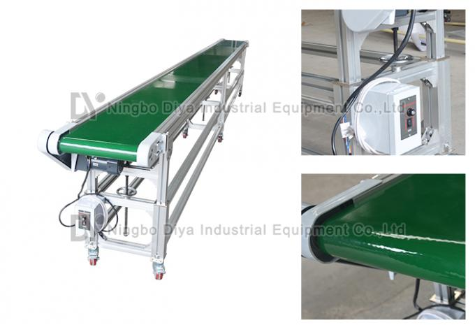 Hot Selling Aluminum Working Tables Assembly Line Belt Conveyor