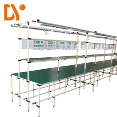 Connected Flexible Assembly Lines Double Side Cold Welded Custom Size