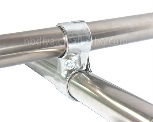 Chromed Pipe Joint System Metal Material Small Size Simple Assemble OEM