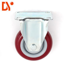 China Nylon Industrial Caster Wheels For Push Cart Trolley 130mm Height For Moving Products supplier