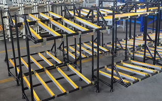 Fixing Frame Stackable Pallet Racks , Stackable Steel Pallets For Warehouse