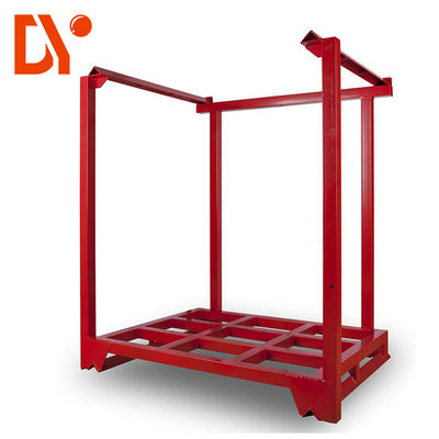 Workshop Stackable Pallet Racks Steel Material ISO9001 Certification