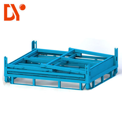 Heavy Duty Stackable Pallet Racks Custom Color Anti - Rust Simple Design