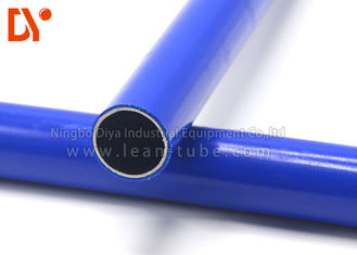 Plastic Coated  ESD Pipe Rust Proof 28mm Diameter For Flexible Structure