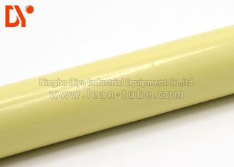 Round Polyethylene Coated Steel Pipe , Anti Static Pipe 0.8 - 2.0mm Thickness