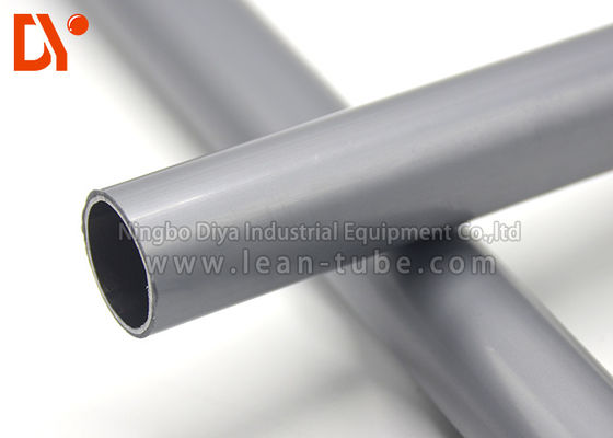 Anti Static ESD Lean Tube Gray Color Large Loading Capacity Easy Installation