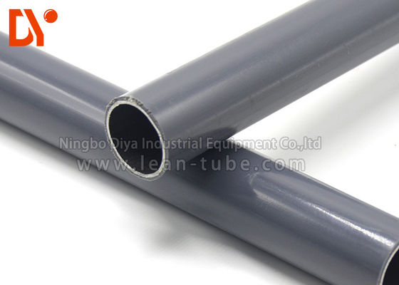Logistic Plastic Coated Pipe Steel / Iron Material With GB Standard