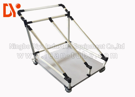 Turn Over Pipe Mobile Tool Cart , Mechanics Tool Cart Long Service Life