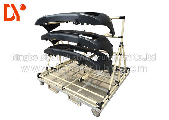 Aluminium Profile Tool Storage Cart , Easy Assemble Metal Tool Cart