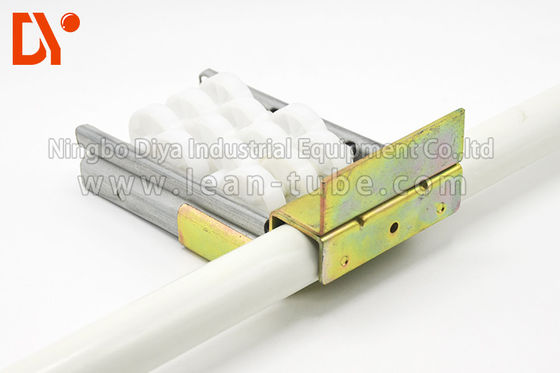 Metal Material Pipe Fitting System , Pipe Fitting Joints For Roller Track