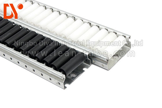 China Tool Storage Cart Plastic Roller Track 4 Meters Length Multi Color Lightweight supplier