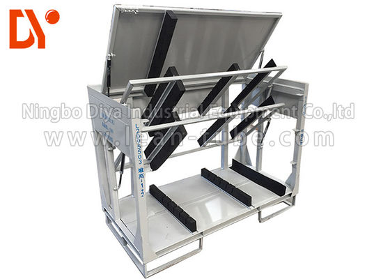 Turn Over Workshop Tool Trolley Anti Static Customized Size Cold Pressing / Rolling
