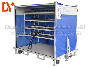 Aluminium Workshop Tool Trolley Glossy Surface Robust Design Easy To Use