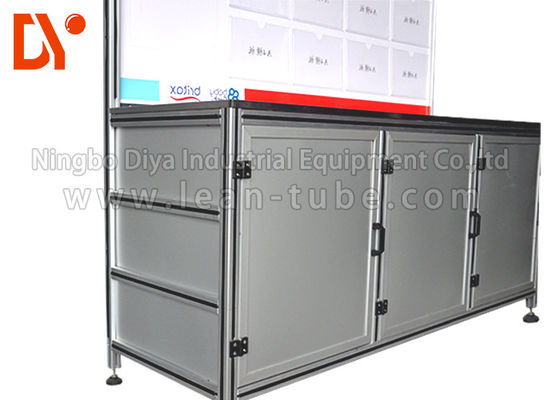 China Industrial Aluminium Profile Workbench Equipment Anti - Corrosion Custom Size supplier