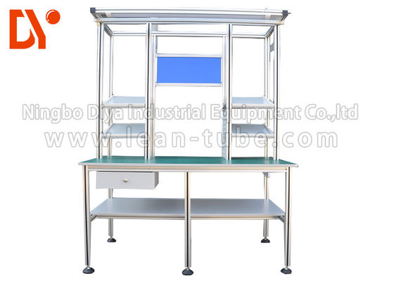 China Anti Static Aluminium Profile Workbench Lightweight ISO9001 Certification supplier