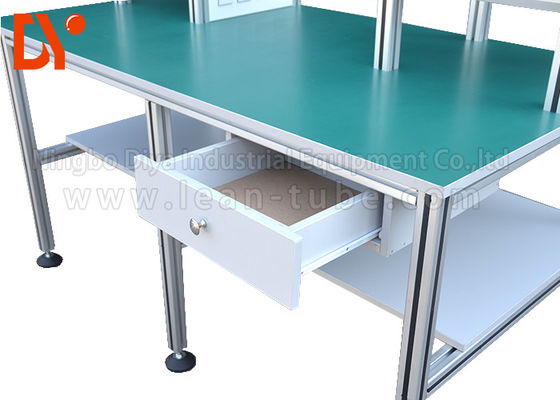 China Industrial Workshop Anti Static Workbench , Aluminum Extrusion Workbench OEM supplier