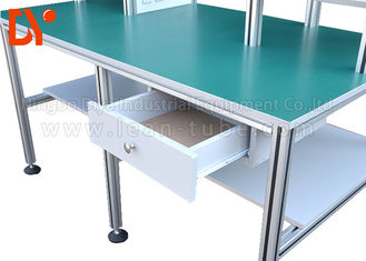 Industrial Workshop Anti Static Workbench , Aluminum Extrusion Workbench OEM