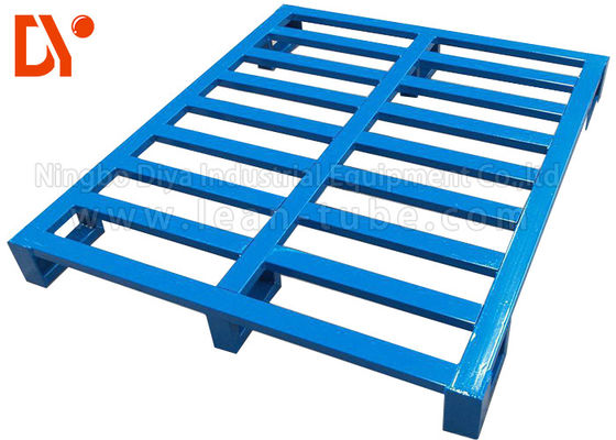 Stainless Steel Stackable Metal Pallets Customer Size For Heavy Duty Warehouse