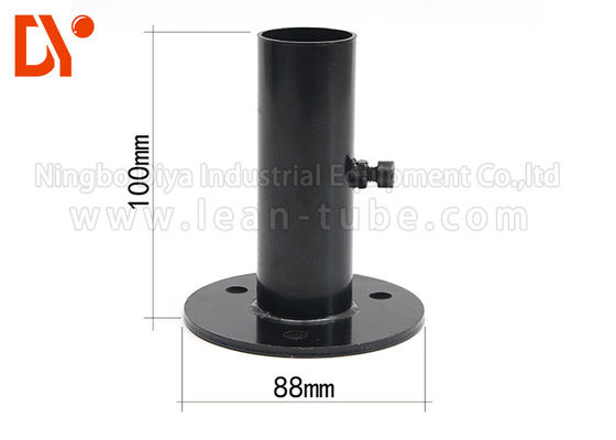 China Castor Pipe Clamp Clip Metal Material Connected / Welded Robust Design supplier