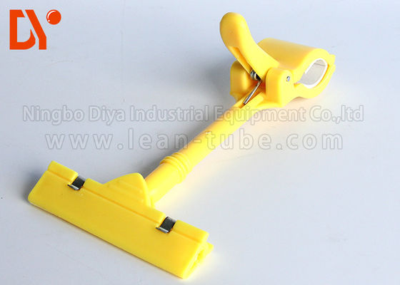 Industrial Connecting Metal Pipe Clips , Metal Pipe Clamps Easy On Easy Down