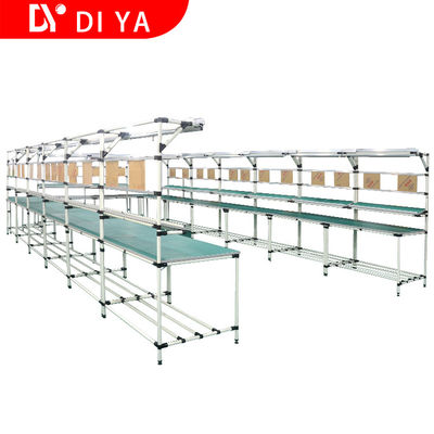 Industrial Workshop Automated Production Line Aluminium Profile Work Table