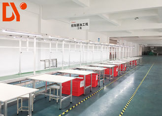 Electric Power Automated Assembly Line , Flexible Production Line For Workshop