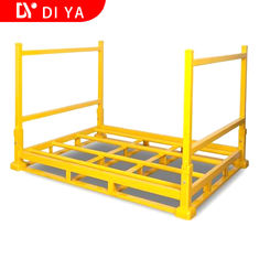 Foldable Heavy Duty Metal Steel Storage Rack Foldable Stacking Rack For Warehouse