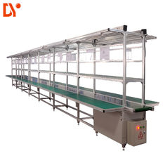 DY1128 Double Face Conveyor Belt System ESD Assembly Line for Workshop