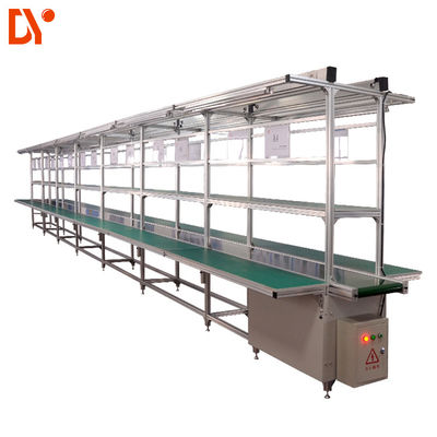 Hgih Precision Automatic Conveyor Belt Flexible Production Line ISO9001 Standard