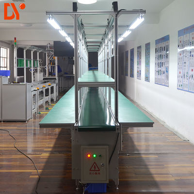 DY1128 Automated Flexible Assembly Lines Double Face Conveyor Belt Size Custom