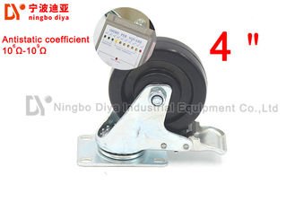 Heavy Duty  Industrial Caster Wheels For Logistic Equipment ISO9001 Certification