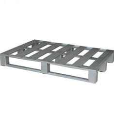 Heavy Duty Steel Stackable Metal Pallets For Warehouse Storage Customer Size