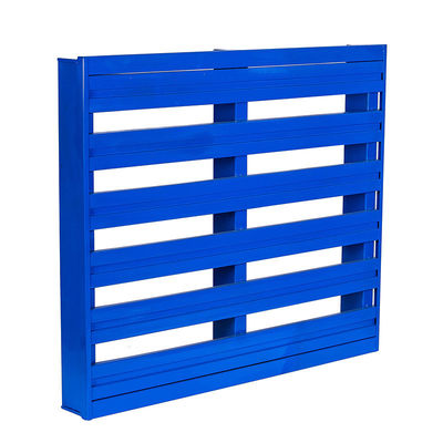 Powder Coating Q235 Stackable Metal Pallets For Workshop And Logistic