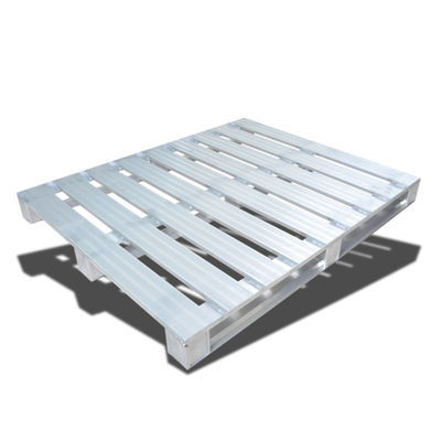 Warehouse Stackable Metal Pallets / Euro Standard Stainless Steel Pallet