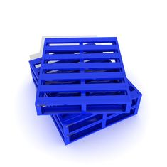 Powder Coating Metal Pallet Box with Shuttle System Metal Drive In Racking