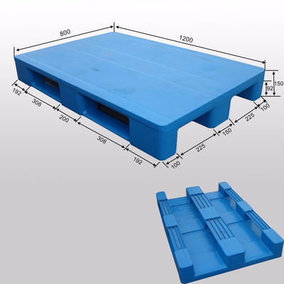 HDPE Stackable Metal Pallets Customize Size With ISO9001 Standard