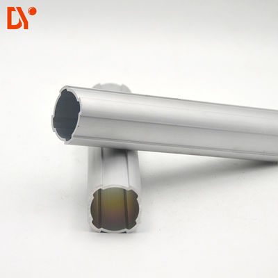 China Cylindrical Profile Aluminium Alloy Lean Tube DY43-01A OD 43mm For Workshop supplier