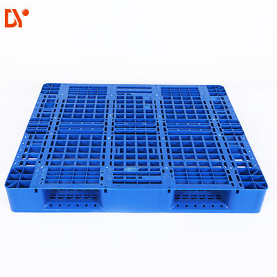 Heavy Duty Single Side Stackable Plastic Pallets For Warehouse Storage Stacking