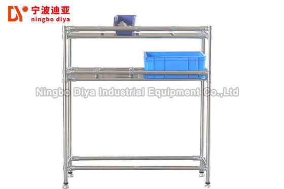 Factory Stainless Steel Lean Tube Anti Static Workbench Customer Size