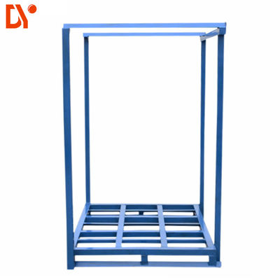 Galvanized Blue Stacking Pallet Racking System Logistics Warehouse Storage