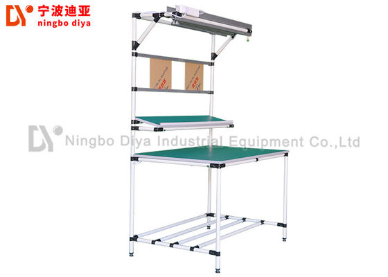 China ESD Anti Static Table Top Lean Tube Frame Custom Demension For Assembly Line supplier