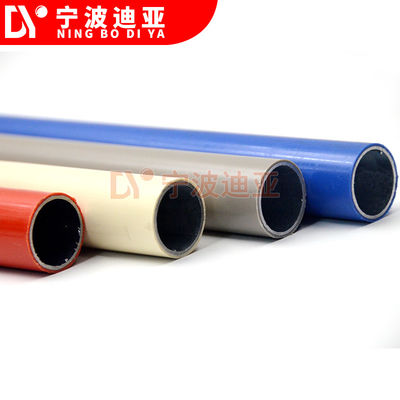 Factory direct Sell ABS Coated Lean Pipe  Colorful  Pipe/tube for Pipe system