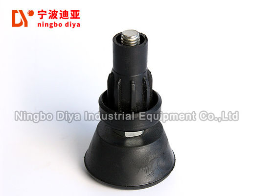 20 - 95 Shore A Hardness Black Rubber Feet For Office Furniture ISO9001