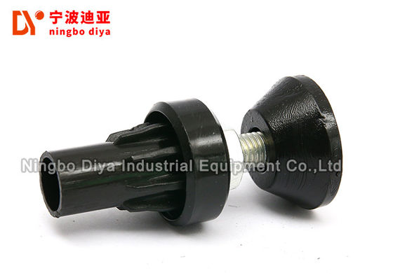 Lightweight High Precision Pipe Clamp Clip Rubber Leg For Instrument And Equipment