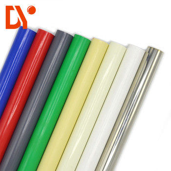 China 28mm PE Abs Coated Lean Tube For Rack System supplier