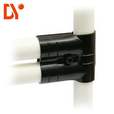 Anti Rust Black Lean Tube Connector Glossy Surface For Lean Production Line