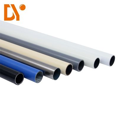 China Ce Certification Seamless 28mm Coated Pe Lean Tube supplier