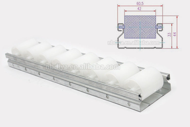 Sheet Metal Sliding Roller Track Aluminum Material For Pipe