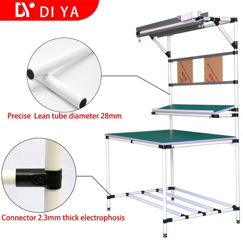 Admirable Lean Pipes Aluminium Work Bench Anti Static For Industrial Ncnpc Chair Design For Home Ncnpcorg